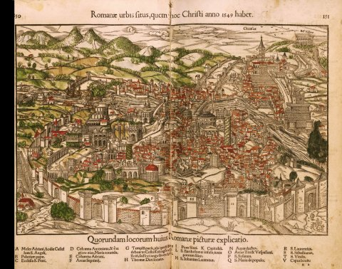 rome map 1549